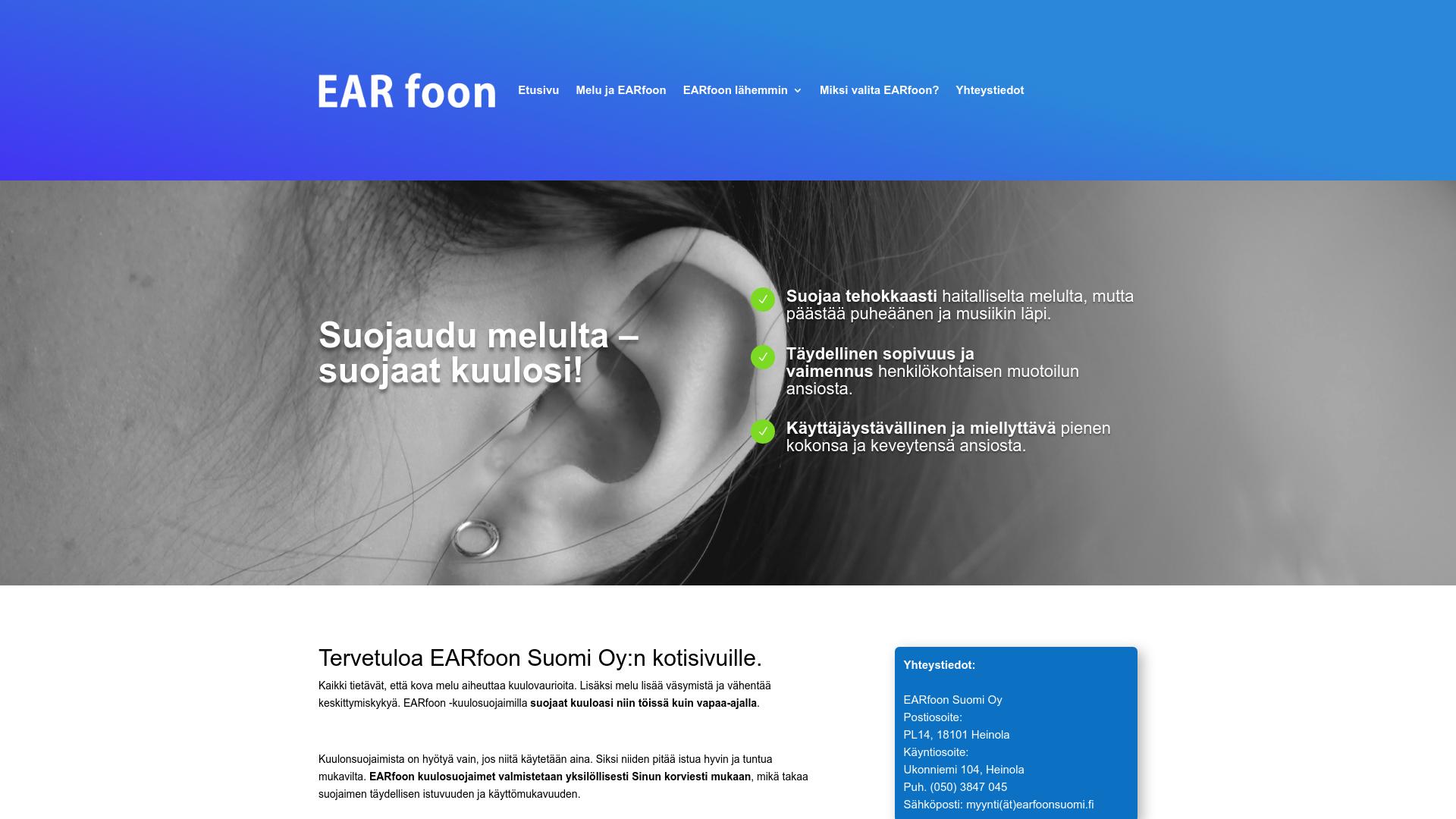 EARfoon Suomi Oy